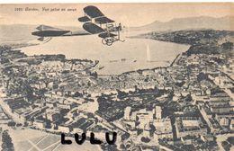 SUISSE : édit. G Jaeger N° 1070 : Genève Vue Prise En Avion - GE Genève