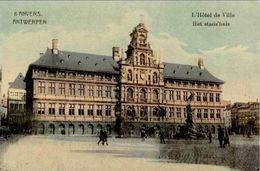 ANVERS-ANTWERPEN - Hôtel De Ville - Antwerpen