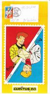 Feuillet Ric HOCHET & Chick BILL TIBET - Timbre N°2785 - FDC -  Signé Par Tibet & Duchâteau - FDC