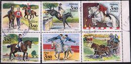 Sweden 1990  6 м Used  Equestrian Hippisme   Horse  Horses  Chevaux Cheval Caballos Pferde Pferd - Hípica