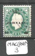 MAC (PORT) Mun 42 YT 42 Dent 12 1/2 Ob - Macao