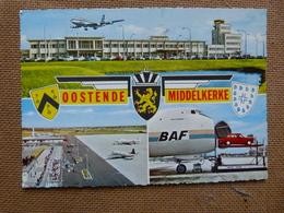 AEROPORT  / FLUGHAFEN / AIRPORT         OOSTENDE MIDDELKERKE   CARVAIR BAF - 1946-....: Moderne