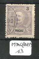 MAC (PORT) Mun 82 YT 82  Ob - Macao