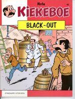 Kiekeboe - Black-out (1ste Druk)  1990 - Kiekeboe