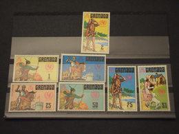 GRENADA - 1972 UNICEF/COSTUMI  7 VALORI - NUOVI(++) - Grenada (...-1974)