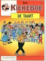 Kiekeboe - De Taart (1ste Druk)  1990 - Kiekeboe
