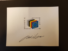 Belgique-België - NA10- NL - Présidence Belge Union Européenne - Belgique