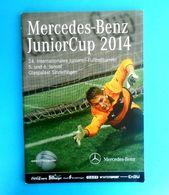 2014 Mercedes Benz Junior Cup Programme - MANCHESTER UNITED FC SCHALKE 04 BORUSSIA DORTMUND STUTTGART Fussball Programm - Match Tickets