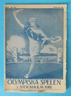 OLYMPIC GAMES STOCKHOLM 1912. - Original Vintage Guide & Programme * Olympia Olympiade Olympiad Jeux Olympiques - Olympische Spiele