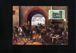 Deutschland / Germany 1984 Post In Roman Times Maximumcard - Post