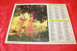 CALENDRIER  ALMANACH Des  PTT  1986 - Calendars