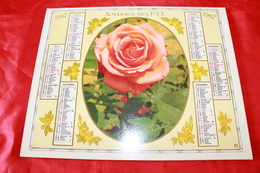 CALENDRIER  ALMANACH Des  PTT  1987 - Big : 1981-90