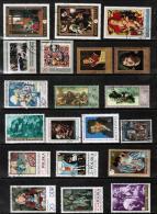 ART---LOT Of USED & UNUSED DL-512 - Art