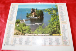 CALENDRIER  ALMANACH Des  PTT  1989 - Big : 1981-90