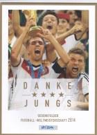 Germany Folder 2014 FIFA World Cup Football Brazil - Germany Winners Sheet Of Ten (LAR7-28) - Fußball-Weltmeisterschaft