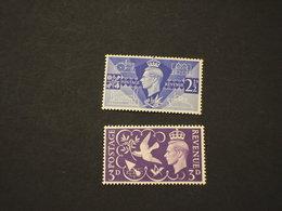 GRAN BRETAGNA - 1946 VITTORIA 2 VALORI - NUOVI(++) - 1902-1951 (Re)