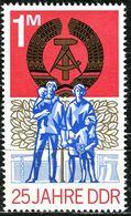 DDR - Michel 1983 Aus Block 41 - ** Postfrisch (C) - 1M  25 Jahre DDR - Ongebruikt