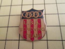 Pin812g Pin's Pins / Rare Et De Belle Qualité !!! SPORTS : AVIRON USA SCREWING TEAM - Rowing