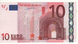 "10 EURO  ""L""   FINLAND    Firma Duisenberg   D 001 C5   /  FDS - UNC - EURO"