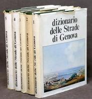 Storia Liguria B.M. Vigliero - Dizionario Delle Strade Di Genova - 1973 - 5 Vol. - Books, Magazines, Comics