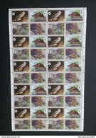 Laos 2004 WWF Fauna Reptiles Turtles Complete Sheet! MNH** Unmounted Mint** Cat. Value €105.00 - Laos