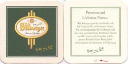#D195-284 Viltje Bitburger - Sous-bocks