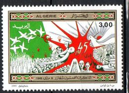 REPUBLIQUE ALGERIENNE -  1995: _ Mai 1945, Victoire Sur Le Nazisme - N° 1086** - Algeria (1962-...)