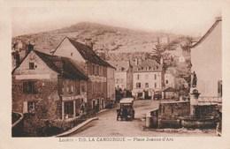 LA CANOURGUE Place Jeanne D'Arc 784F - Autres Communes