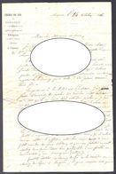 DOCUMENT HISTORIQUE 1846 - CHEMIN DE FER DE MARSEILLE A AVIGNON - D'un Ingénieur Parlant De L'ingénieur PAULIN TALABOT - Historische Documenten