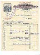 F71 -  Bulle Société Coopérative Pour La Vente Du Fromage De Gruyère Facture En 1917 Armailli - Suisse