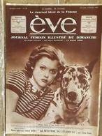 EVE 1934 / SIMONE SIMON / CABY MORLAY GENEVIEVE TOBIN ALICE FIELD JOAN HARLOW ANNABELLA - Newspapers