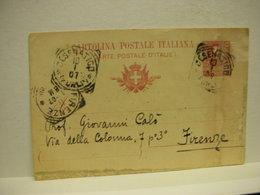 CESENATICO  --- FORLI'   ---  ANNULLO  MECCANICO DI LOCALITA'-- SU DOCUMENTO POSTALE - Italia