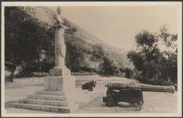 Wellington Monument, Gibraltar, C.1930s - RP Postcard - Gibraltar