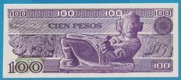 MEXICO 100 Pesos  CARRANZA25.03.1982Serie VH Z0512409 P# 74c - Mexico