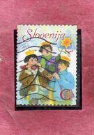 SLOVENIA SLOVENIJA SLOVENIE SLOWENIEN 2006 CHRISTMAS NATALE NOEL WEIHNACHTEN NAVIDAD  C USATO USED OBLITERE' - Slovenia