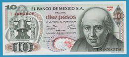 MEXICO 10 Pesos Miguel Hidalgo Y Costilla15.05.1975Serie 1DT T4959378  P# 63h - Mexico