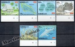 Kiribati 2008 Yvert 667-72, Phoenix Island Protected Area - MNH - Kiribati (1979-...)