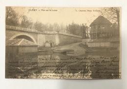 Olivet. Vue Sur Le Loiret. Précurseur  Phot. Cherret. Orléans - Frankreich