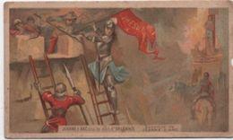 Chromo /A La Fermière/Jeanne D'arc/Orléans/Nouveautés /Grds Magasins Place Bastille/ Paris/ /Vers 1880   IMA391 - Cromo