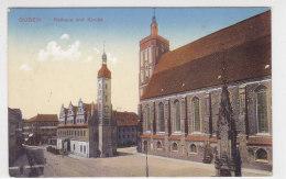 Guben - Rathaus Und Kirche - 1912 - Guben