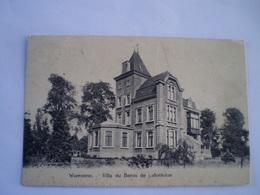 Waremme // Villa Du Baron De Lafontaine // Used 1922 Iets Roest - Waremme