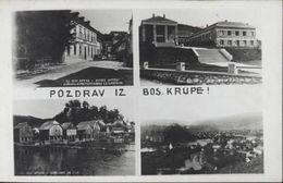 CPA Bosnie Herzegovine Ou Pologne Pozdrav Iz Bos Krupe Bosanska Krupa Je Pense - Bosnia And Herzegovina