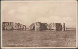 Old Harry Rocks, Swanage, Dorset, C.1930s - Frith's Postcard - Swanage