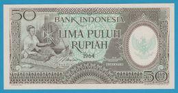 INDONESIA 50 Rupiah 1964Serie GBE P# 96 - Indonesia