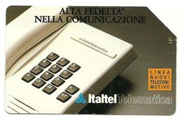 Italia - Tessera Telefonica Da 5.000 Lire N. 97, - Italia