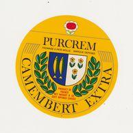 ETIQUETTE (T)  DE CAMEMBERT PURCREM - Cheese