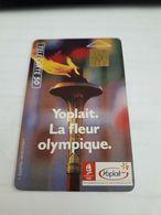Télécarte Illustrées Yoplait La Fleur Olympique Albertville 1992 - France