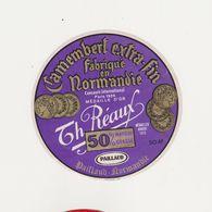 ETIQUETTE (T)  DE CAMEMBERT PAILLAUD /REAUX 50 S TORIGNI SUR VIRE - Cheese