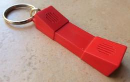 Porte  Clefs    ALUMINIUM Bd. Archimède Elne  ( Téléphone  ) - Key-rings