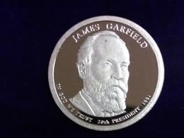2011 James Garfield Presidential Dollar - Federal Issues